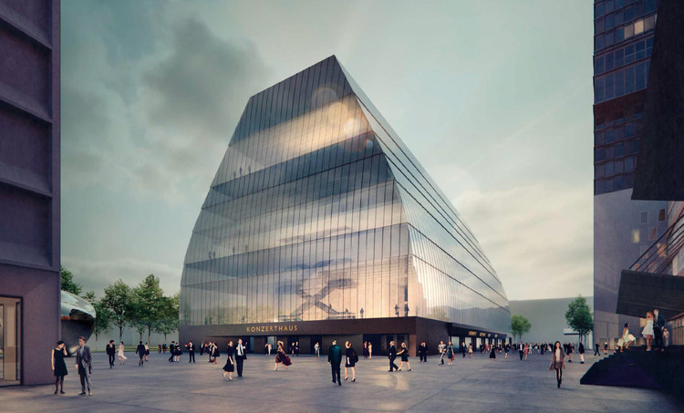 Cukrowicz Nachbaur Architekte Beats Out 30 Top Firms in Munich Concert Hall Competition, Courtesy of Cukrowicz Nachbaur Architekten
