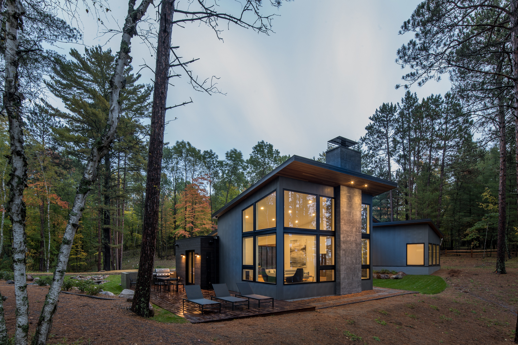 Galer a de casa del lago northern strand design 2 for Home node b architecture