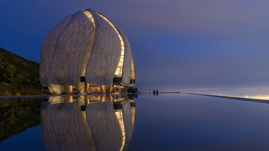 Bahá'í Temple of South America; Santiago, Chile / Hariri Pontarini Architects. Image © Sebastián Wilson León