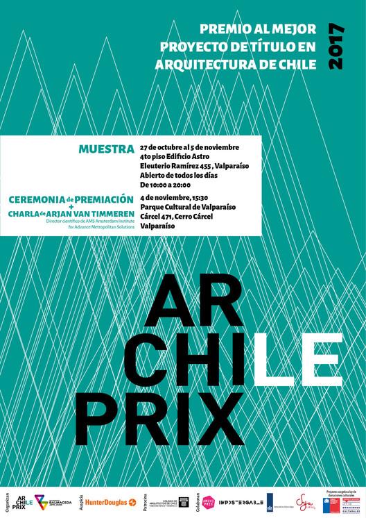 Ceremonia de Premiación Concurso Archiprix Chile 2017 en XX Bienal de Arquitectura, Cortesía de Archiprix Chile
