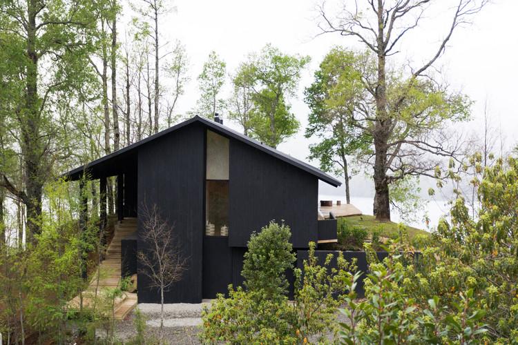 Casa CS Lago Calafquen / Claro + Westendarp arquitectos, © Francisco Boetsch T.