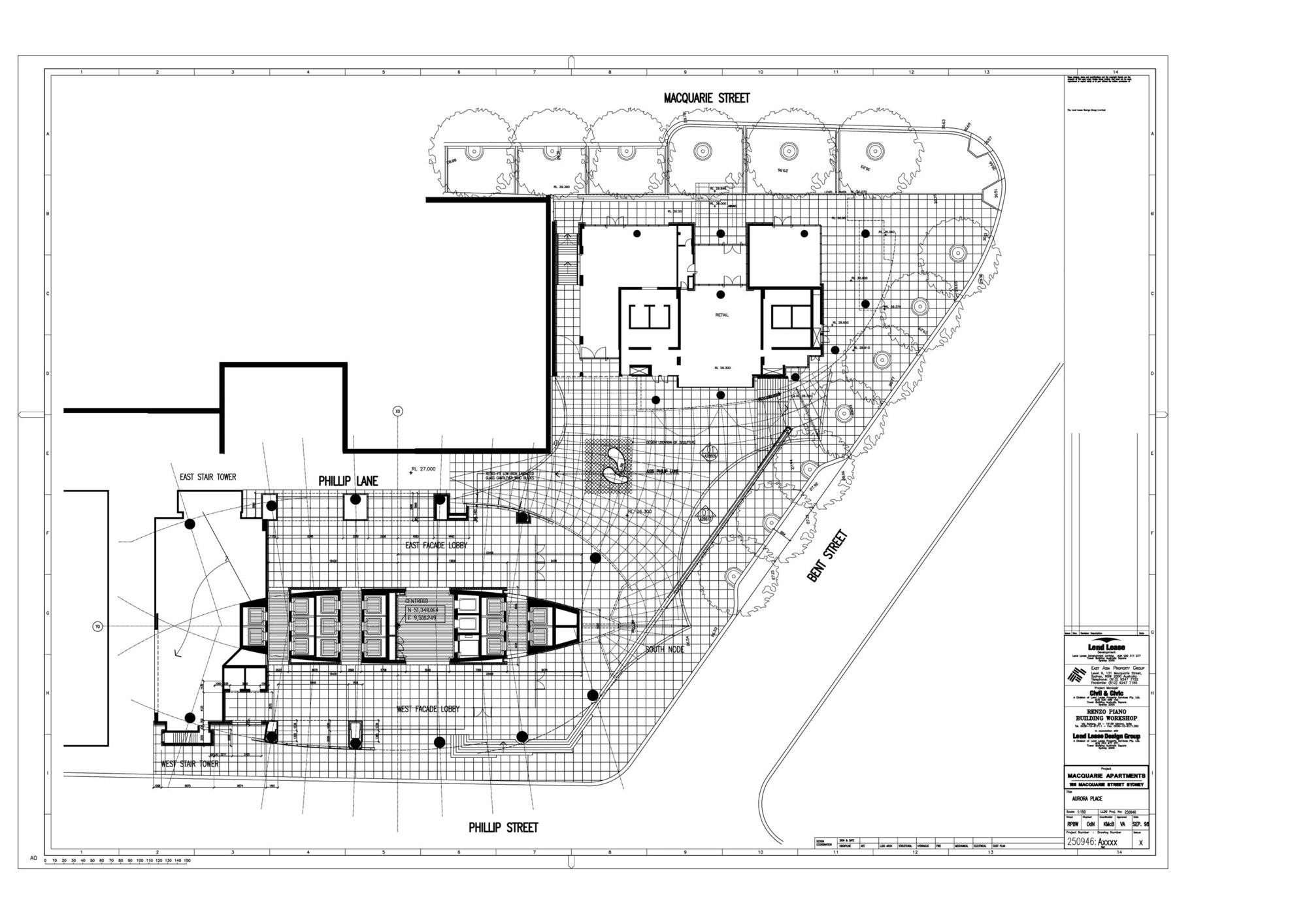 Residential Building Ground Floor Plan. Gallery of Aurora Place   Renzo Piano Building Workshop   17