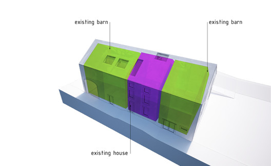 Diagrama de edificios existentes