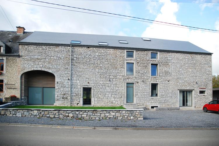 Casa de alquiler en Wellin / Jahnke-Ledant Architects, Cortesía de Jahnke-Ledant Architects