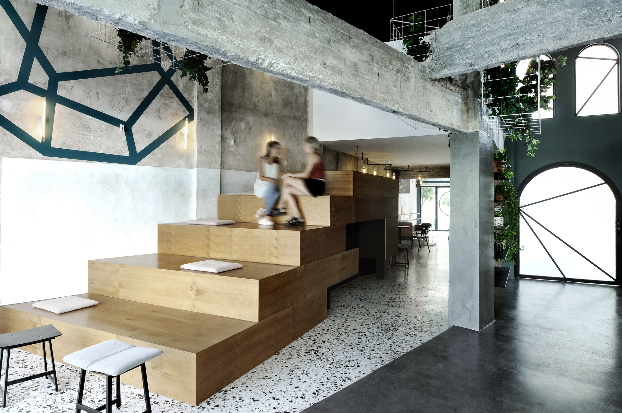 Black Drop Coffee Shop / ark4lab of Architecture