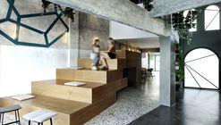 Cafetería Black Drop / ark4lab of Architecture