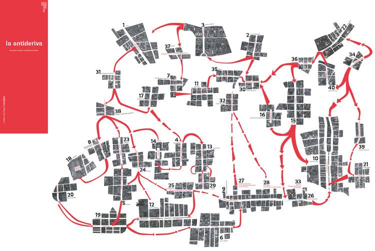 La Antideriva. Santiago invisible: la ciudad revisitada