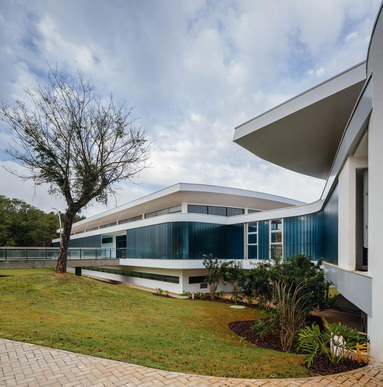 Centro P&D+I KLABIN / Paulo Brazil E. Sant'Anna Arquitetos Associados, © Pedro Kok