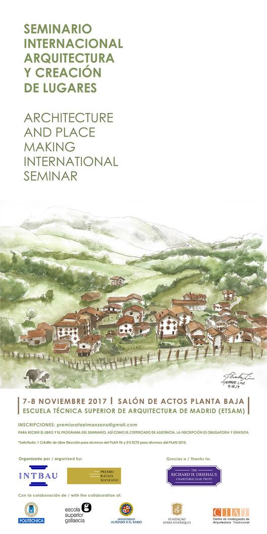 Seminario Internacional Arquitectura y Creación de Lugares en Madrid
