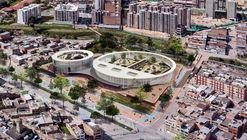 Espacio Colectivo Arquitectos, tercer lugar en diseño del Colegio Argelia II y Centro de la Bici
