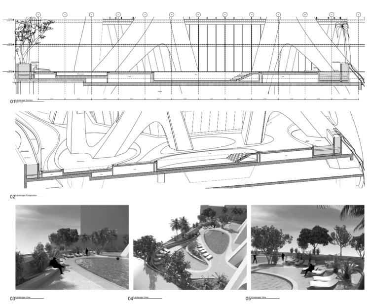 Structural Design Of Zaha Hadid S 1000 Museum Revealed In Cad Drawings Archdaily
