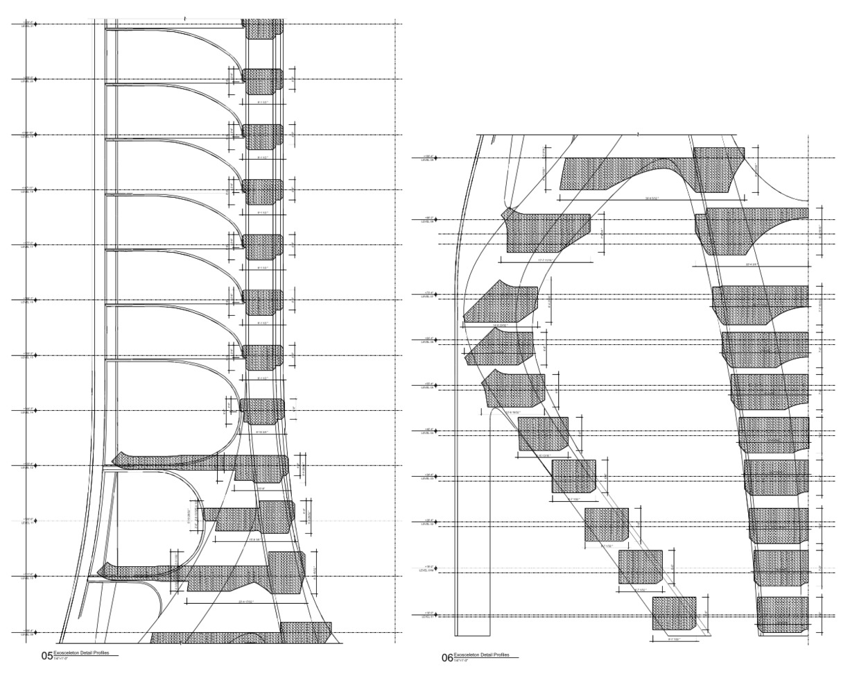 Gallery Of Structural Design Of Zaha Hadid S 1000 Museum Revealed In Cad Drawings 4