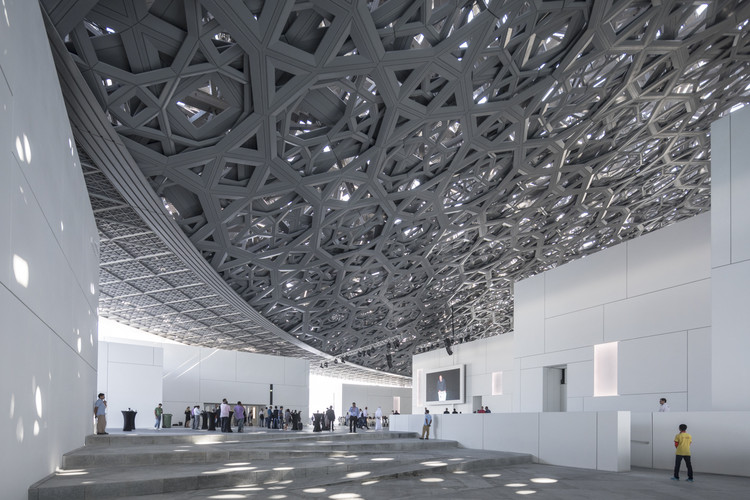 El Louvre Abu Dhabi bajo el lente de Laurian Ghinitoiu, © Laurian Ghinitoiu