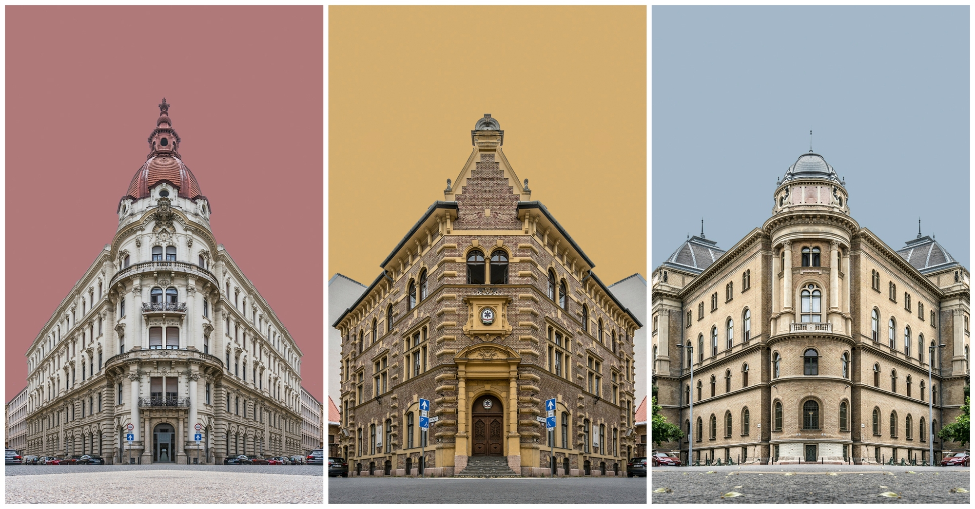 Zsolt Hlinkau0027s Photo Collages Portray The Buildings Of Budapest In Perfect  Symmetry, © Zsolt Hlinka