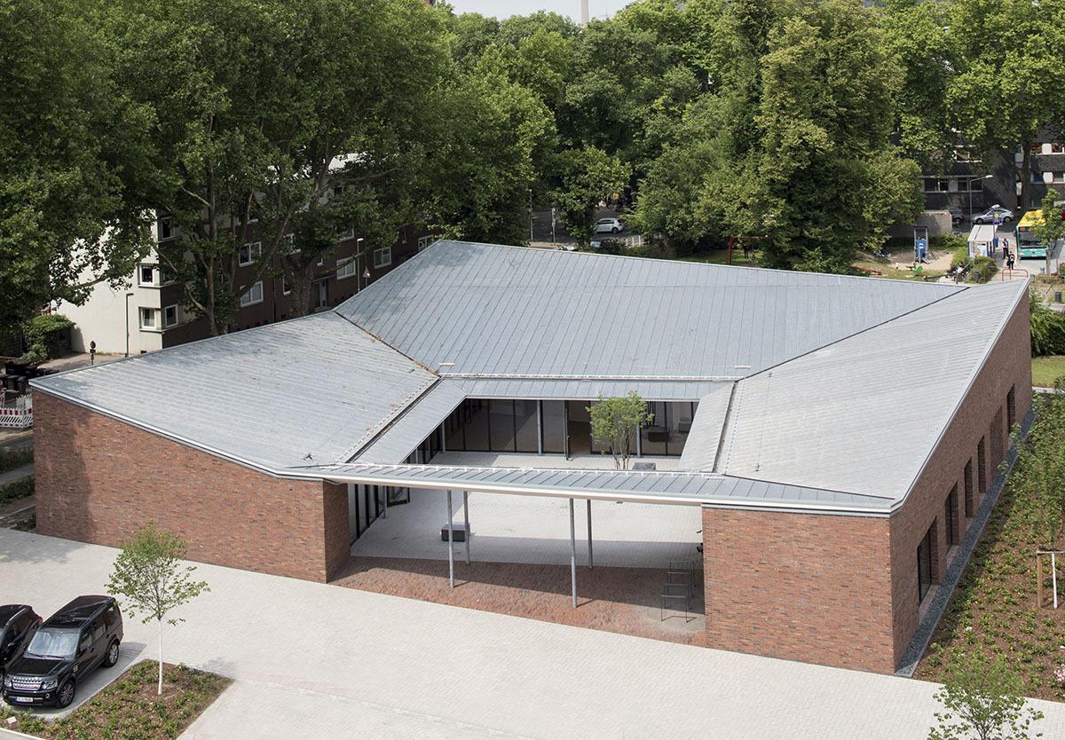 Community Centre Altenessen Heinrich B 246 Ll Architekt