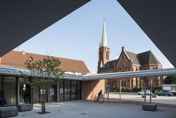 Centro comunit rio altenessen heinrich b ll architekt - Architekt essen ...