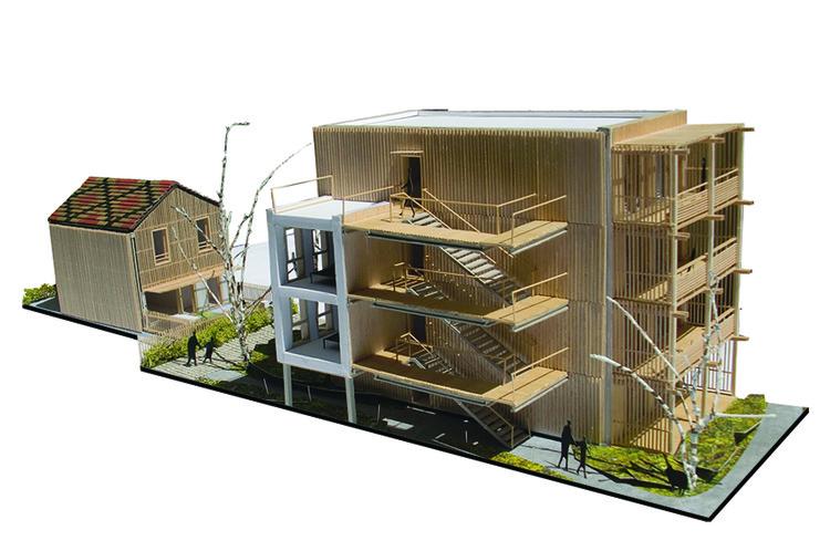 Cortesía de ODILE+GUZY architectes