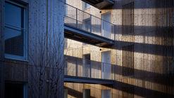 Chauveau - 26 Viviendas Sociales / ODILE+GUZY architectes
