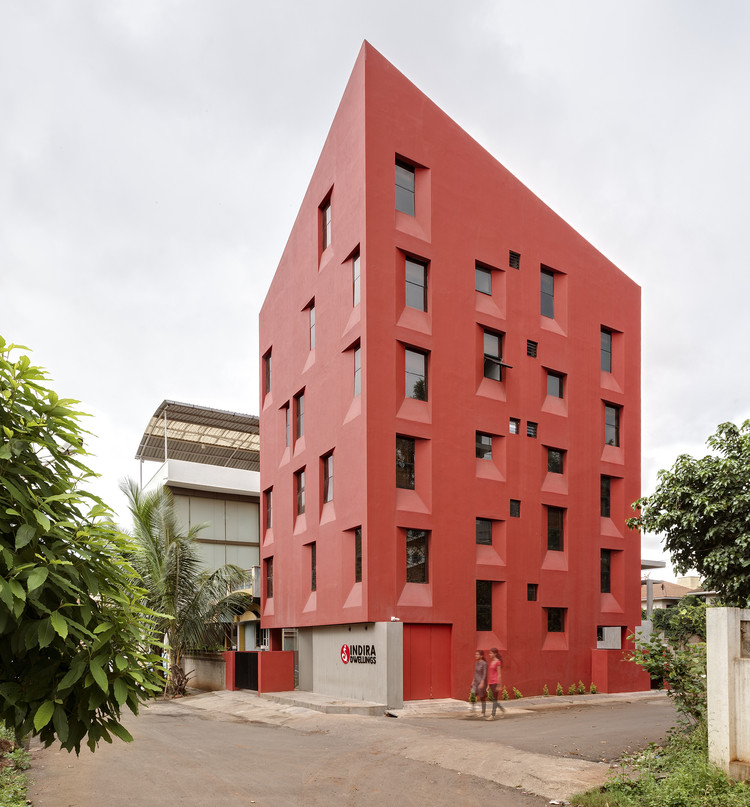 Stacked Student Housing / Thirdspace Architecture Studio, © Hemant Patil