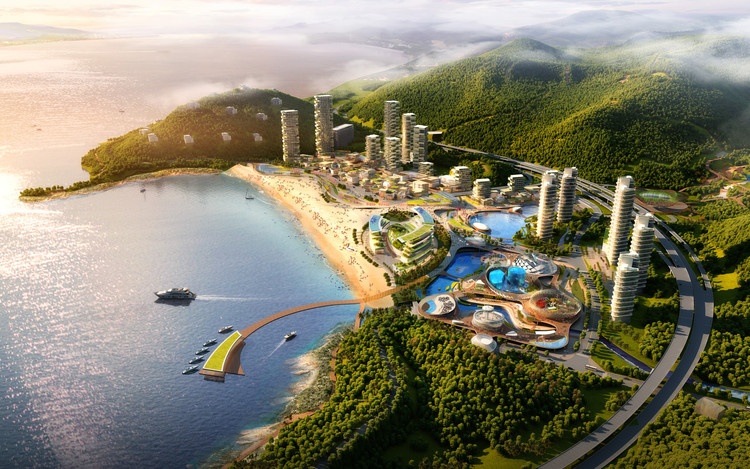 Call for Entries: Design for the New Ocean World and Hotel in Xiaomeisha, Shenzhen, Courtesy of Organizer