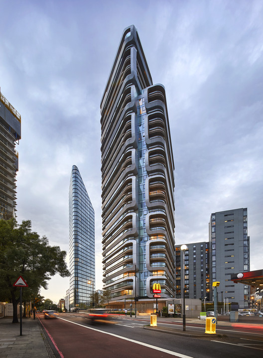 Canaletto Residential Tower Unstudio Archdaily