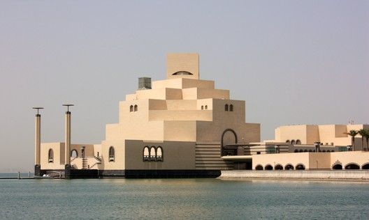 Museum of Islamic Art / IM Pei. Image © <a href='https://www.flickr.com/photos/26085795@N02/4754905352/'>Flickr user Jan Smith</a> licensed under <a href='https://creativecommons.org/licenses/by-sa/2.0/'>CC BY-SA 2.0</a>
