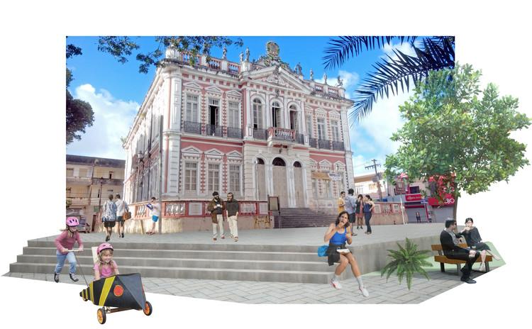 1º Lugar no Concurso para revitalização do centro histórico de Ilhéus /BA, Cortesia de Rafael Lamary Silva Santos