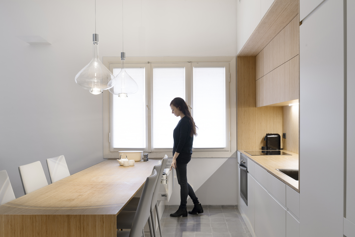 Gallery of Long and Slender / XS Studio for compact design - 6