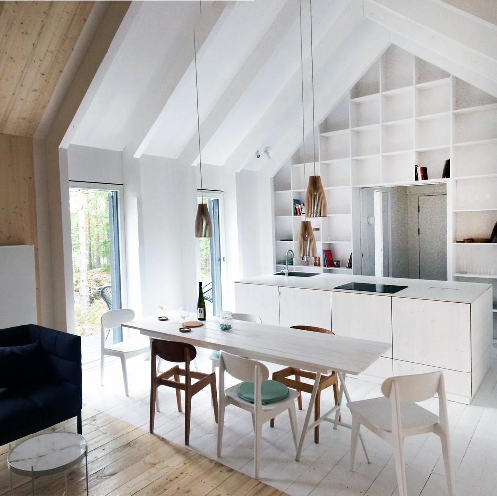 Merveilleux Mökki Santara House,Courtesy Of Carla Gertz