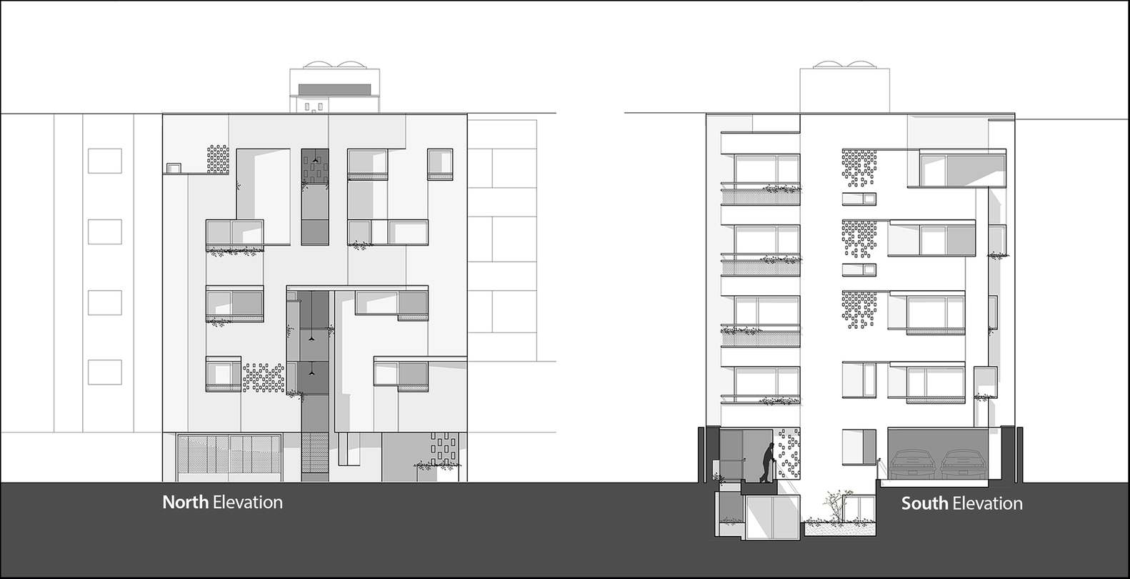 Gallery Of Malek Residential Building Piramun Architectural Office