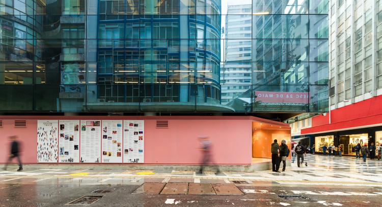 """Paulo Mendes da Rocha: """"O objeto da arquitetura é a realização da cidade"""", Sesc 24 de Maio. Image © FLAGRANTE"""