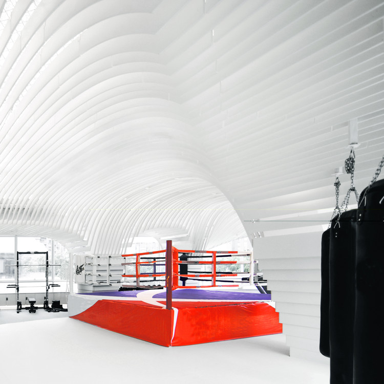 Muay Thai Space / BWAO, Courtesy of BWAO