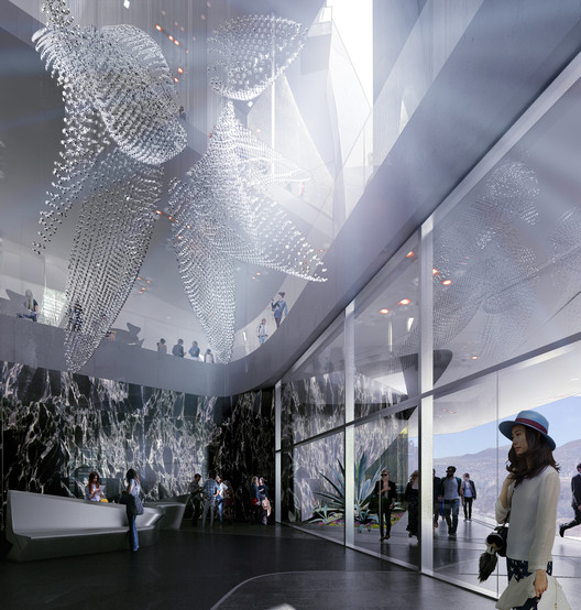 Render by LabTop. Courtesy of Zaha Hadid Architects