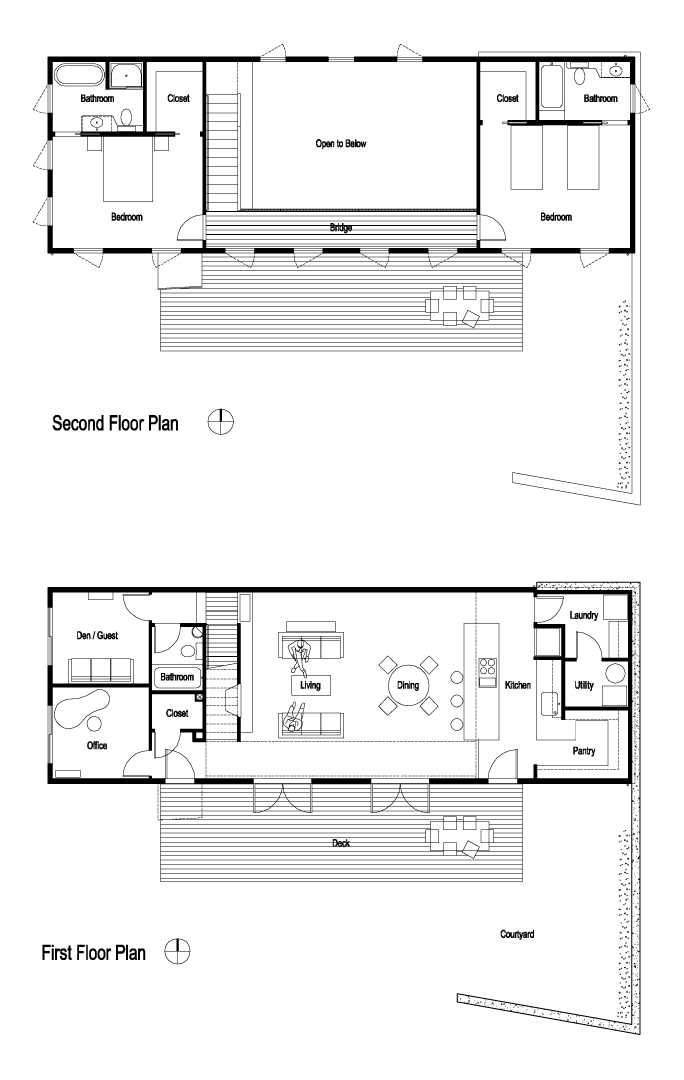 Mother daughter house plans for House plans with inlaw suite on first floor