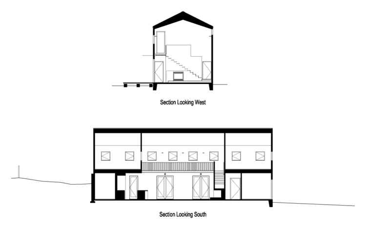 House for a mother daughter robert hutchison for Mother daughter home plans
