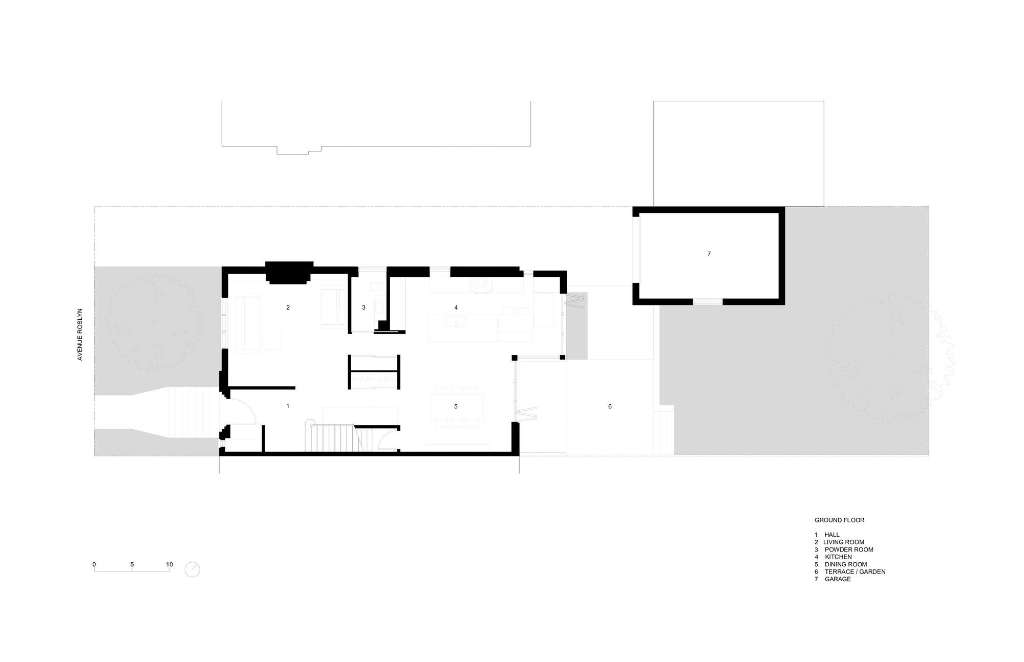 Black Box Ii Natalie Dionne Architecture Archdaily Diagram Ground Floor Plan