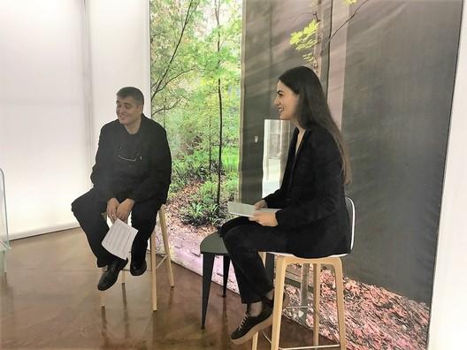 Entrevista a Rafael Aranda (RCR Arquitectes) en la MUGAK. Image Cortesía de MUGAK