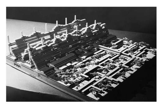 Conceptual Model of MXC's megastructure. Image Courtesy of N.J. Pinney