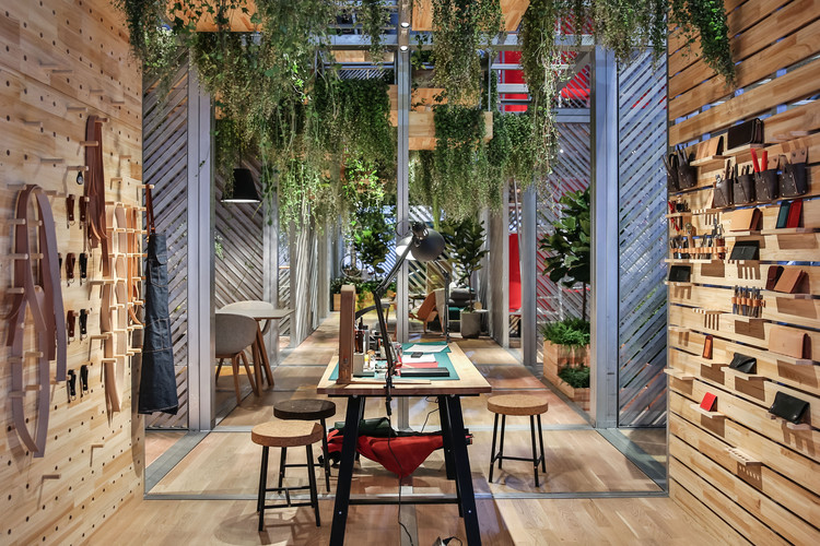 "Penda Creates ""Urban Nest"" for MINI LIVING's Shanghai Mini Life Exposition, © GQ, MINI China"