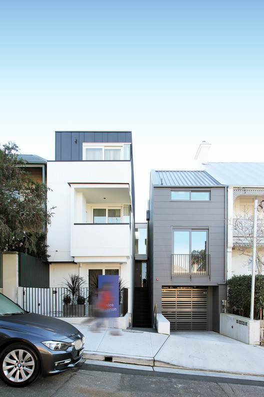3 Townhouses in Balmain / Shed with Terence Yong, Courtesy of Terence Yong