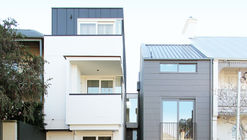 3 Townhouses in Balmain / Shed with Terence Yong