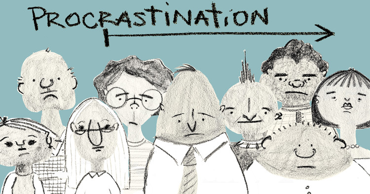 "How to Use ""Structured Procrastination"" to Get the Best Out of Your Bad Habits, © Andrea Vasquez"