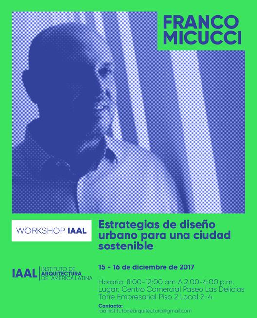 Workshop 'Estrategias de diseño urbano para una ciudad sostenible'
