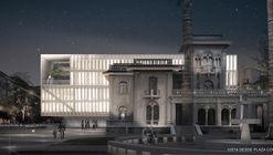 Gubbins-Polidura, segundo lugar en concurso del nuevo edificio municipal de Providencia