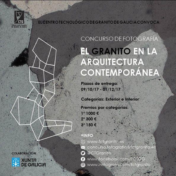 Concurso de fotografía 'El granito en la arquitectura contemporánea'