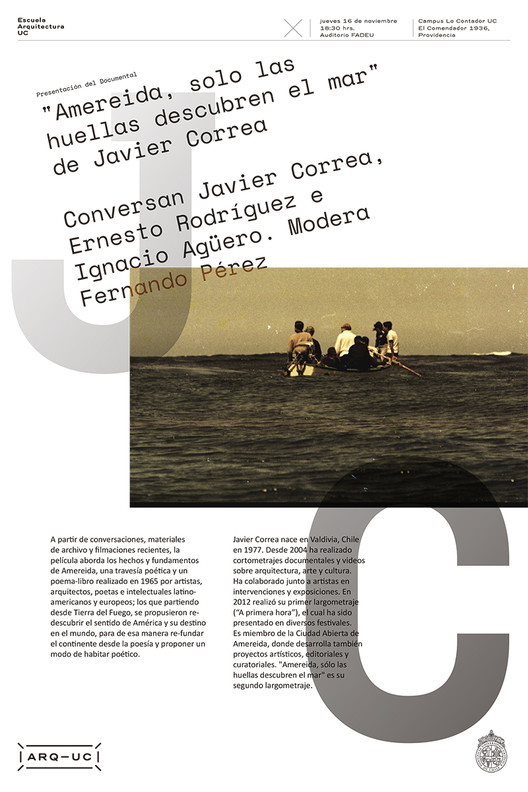 Presentación Documental Amereida, Trinidad Sánchez