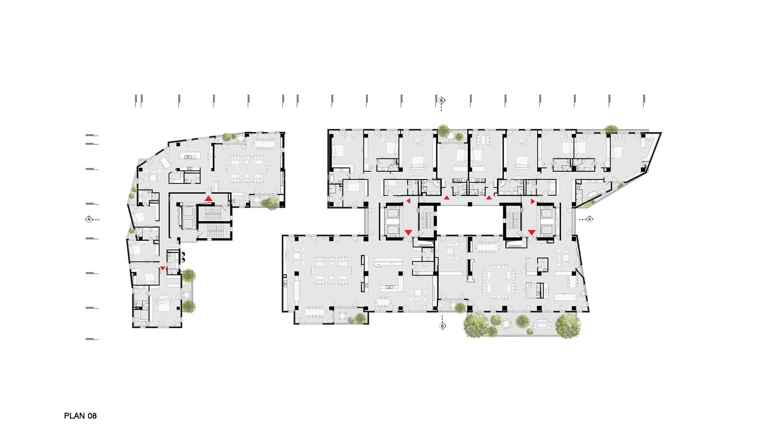 Gallery Of Zaferaniye Garden Complex Olgooco 34