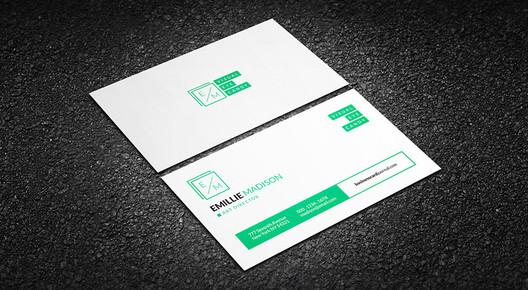 via <a href='http://businesscardjournal.com/clean-creative-individual-business-card-template/'> businesscardjournal</a>