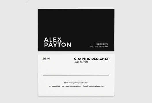 via <a href='https://freedesignresources.net/stylish-business-card-free-template/'> freedesignresources</a>