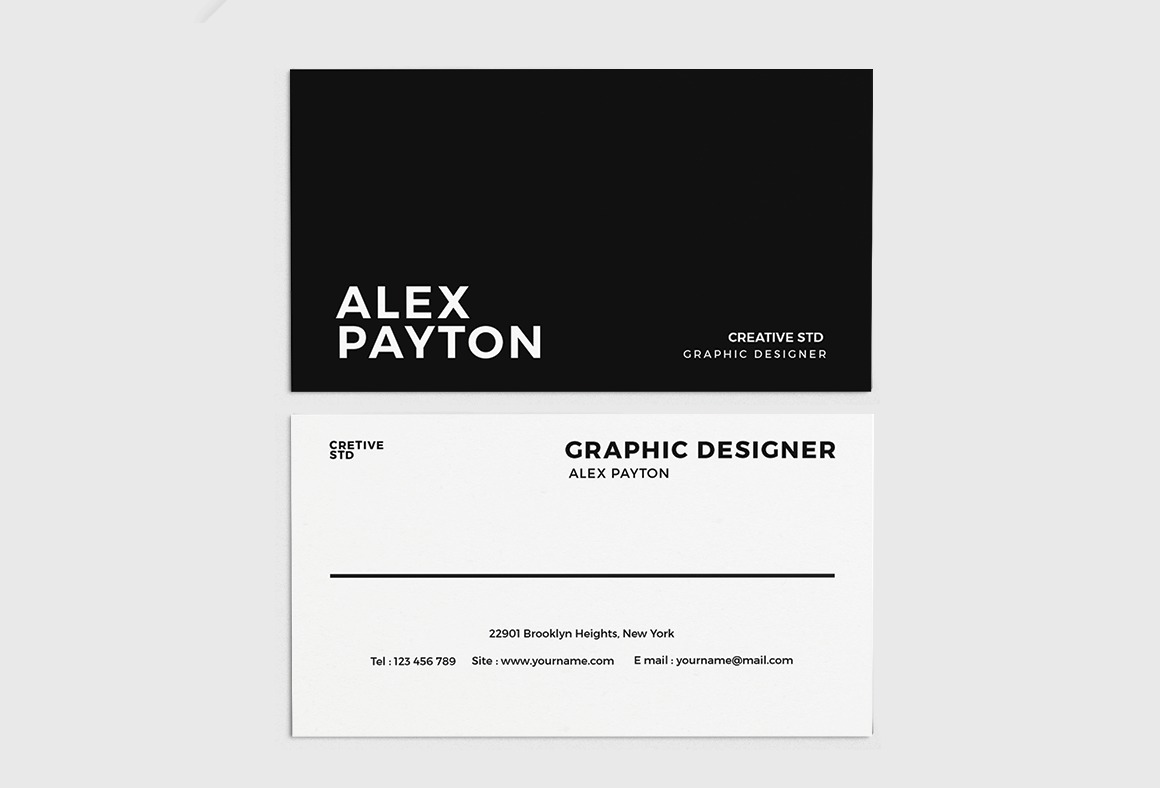 Free business card templates for architects archdaily stylish business card free template save this picture via a cheaphphosting Choice Image